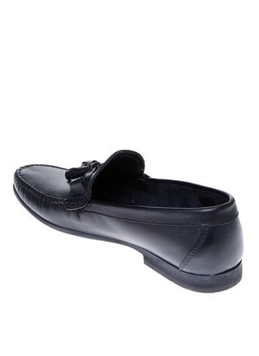 Cotton Bar Loafer Ayakkabı Siyah